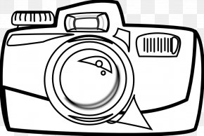 Holding Hands Clipart - Camera Black And White Cartoon Photography Clip Art PNG
