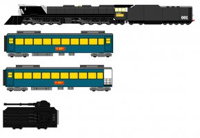 Animated Train Pictures - Train Rail Transport Galaxy Express 999 Locomotive PNG