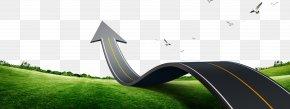 Arrow Highway - Car Lawn Brand PNG