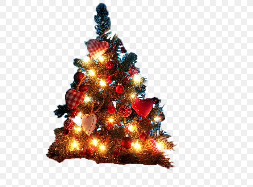 Christmas Tree Christmas Decoration Desktop Wallpaper