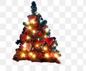 Christmas Tree - Christmas Tree Christmas Decoration Desktop Wallpaper Christmas Lights PNG