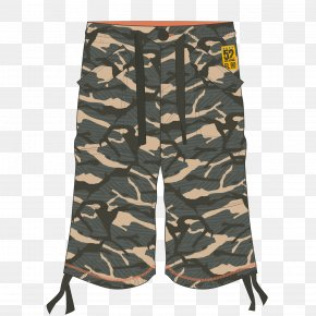 Military Sports Pants - Gym Shorts Trousers PNG