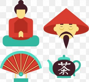 Japan Travel Dinette Teapot Character - National Symbols Of China National Symbols Of China Illustration PNG