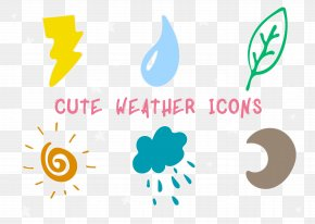 Lovely Weather Icon - Weather Forecasting Icon PNG