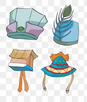 Ancient Different Style Hat - Hat Cartoon PNG