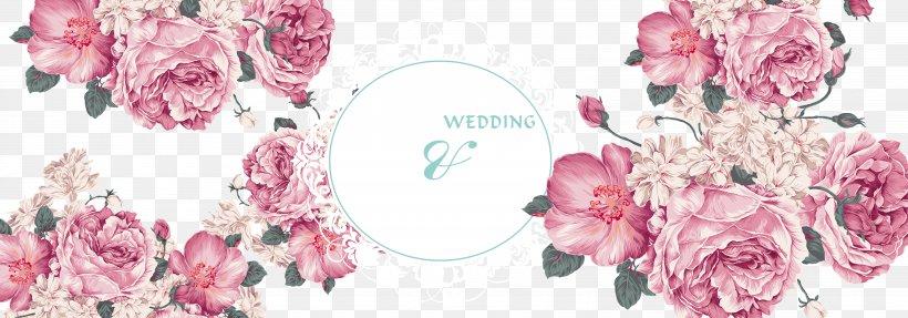 Pink Floral Design Flower Wallpaper, PNG, 6299x2205px, Flower, Artificial Flower, Clothing, Cut Flowers, Decor Download Free