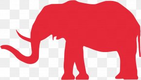 Elephant - African Bush Elephant Asian Elephant Republican Party Clip Art PNG