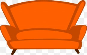 Living Room Sofa Seat - Chair Living Room Couch Seat Vecteur PNG