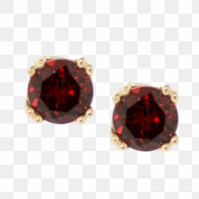 Garnet Pearl Jewelry Designs - Earring Ruby Necklace Colored Gold Jewellery PNG