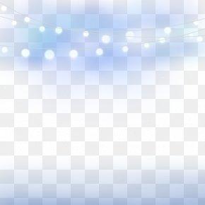 Night Lights - Line Sky Angle Point Blue PNG