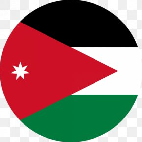 Flag - Flag Of Jordan National Flag Arab Revolt PNG