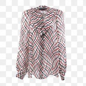 Butterfly Collar Silk Shirt - T-shirt Collar Designer PNG