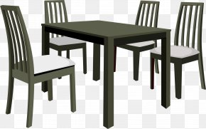 Table - Table Dining Room Garden Furniture Couch PNG