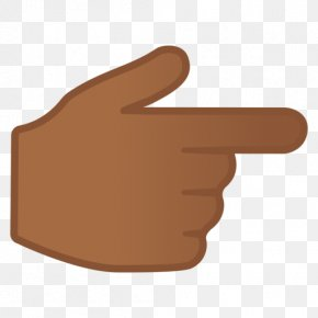 Middle Finger - Thumb Index Finger Hand Emoji PNG