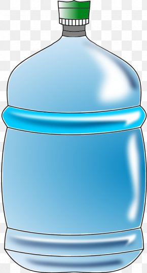 Bottled Water Cliparts - Gallon Water Bottle Clip Art PNG