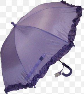 Purple Umbrella Free To Pull The Material Lace - Purple Umbrella Google Images Download PNG