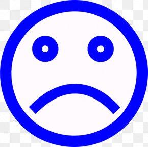 Unhappy Face - Sadness Smiley Face Clip Art PNG