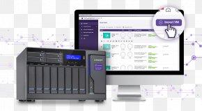 Qnap Systems Inc - Virtual Machine QNAP Systems, Inc. Network Storage Systems Virtualization Windows Virtual PC PNG