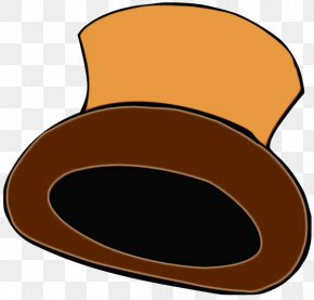 Hat Headgear - Clip Art Brown Headgear Hat PNG