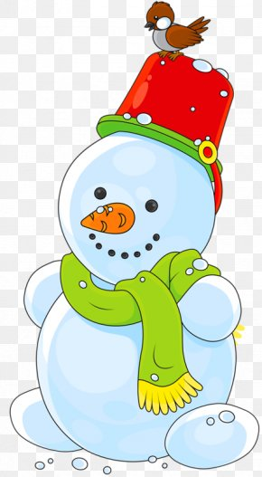 Creative Snowman - Child Snowman Clip Art PNG