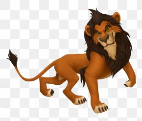 The Lion King Transparent Background - Kingdom Hearts II Kingdom Hearts: Chain Of Memories The Lion King Scar Simba PNG