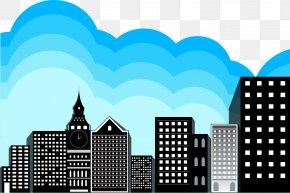 Vector City - Building Euclidean Vector PNG