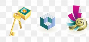 Vector Cube - 3D Computer Graphics Icon PNG