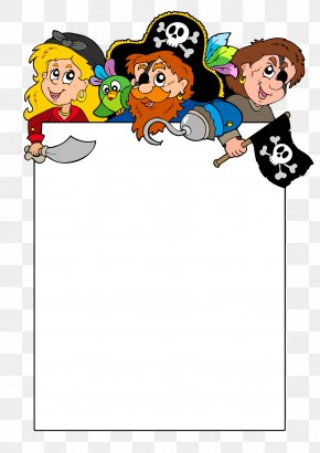Pirate Description Box - Piracy Photography Illustration PNG
