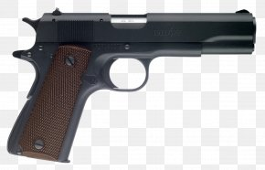 Firearms - Springfield Armory M1911 Pistol Colt's Manufacturing Company .45 ACP PNG