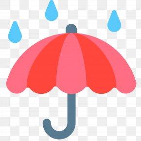 Hold An Umbrella - Emoji Answers Umbrella SMS Clip Art PNG