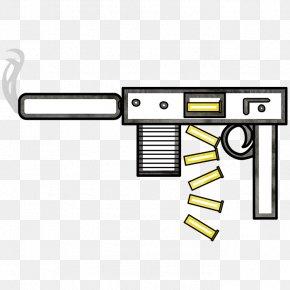 Machine Gun - Firearm Weapon Trigger Gun Barrel PNG