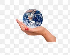 Hand Map - Earth Ball Hand Human Body PNG