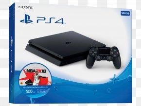 Sony Playstation - Black NBA 2K18 PlayStation 4 PlayStation 2 PlayStation 3 PNG