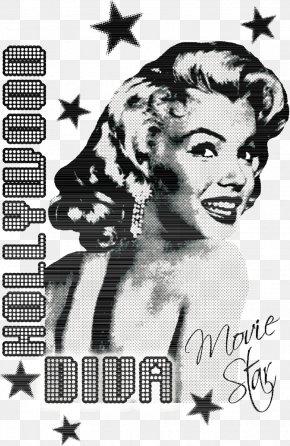 Vector Back Smile Marilyn Monroe - Marilyn Monroe T-shirt Printmaking Screen Printing PNG