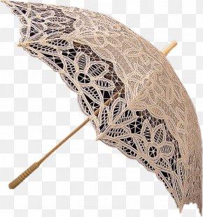 Lace Umbrella - Lace Umbrella Auringonvarjo Textile Arts Thread PNG