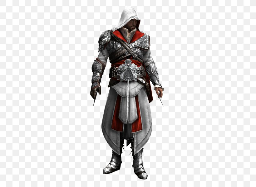 Assassin's Creed: Brotherhood Assassin's Creed: Revelations Assassin's Creed III, PNG, 480x600px, Ezio Auditore, Action Figure, Actionadventure Game, Armour, Assassins Download Free