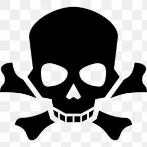Skull - Human Skull Symbolism Skull And Crossbones Poison Clip Art PNG