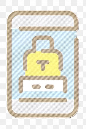 Rectangle Material - Security Icon PNG