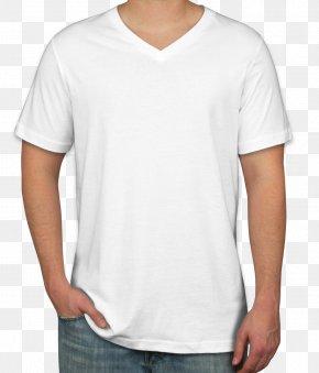 T-shirt - T-shirt Neckline Sleeve Crew Neck PNG