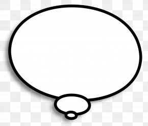 Thinking Bubble - Circle Area Angle White Point PNG