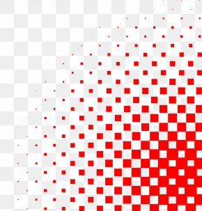 Square Gradient Shading - Halftone Circle PNG