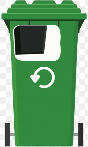 Recycling Waste Containment - Green Waste Container Recycling Bin Waste Containment Recycling PNG