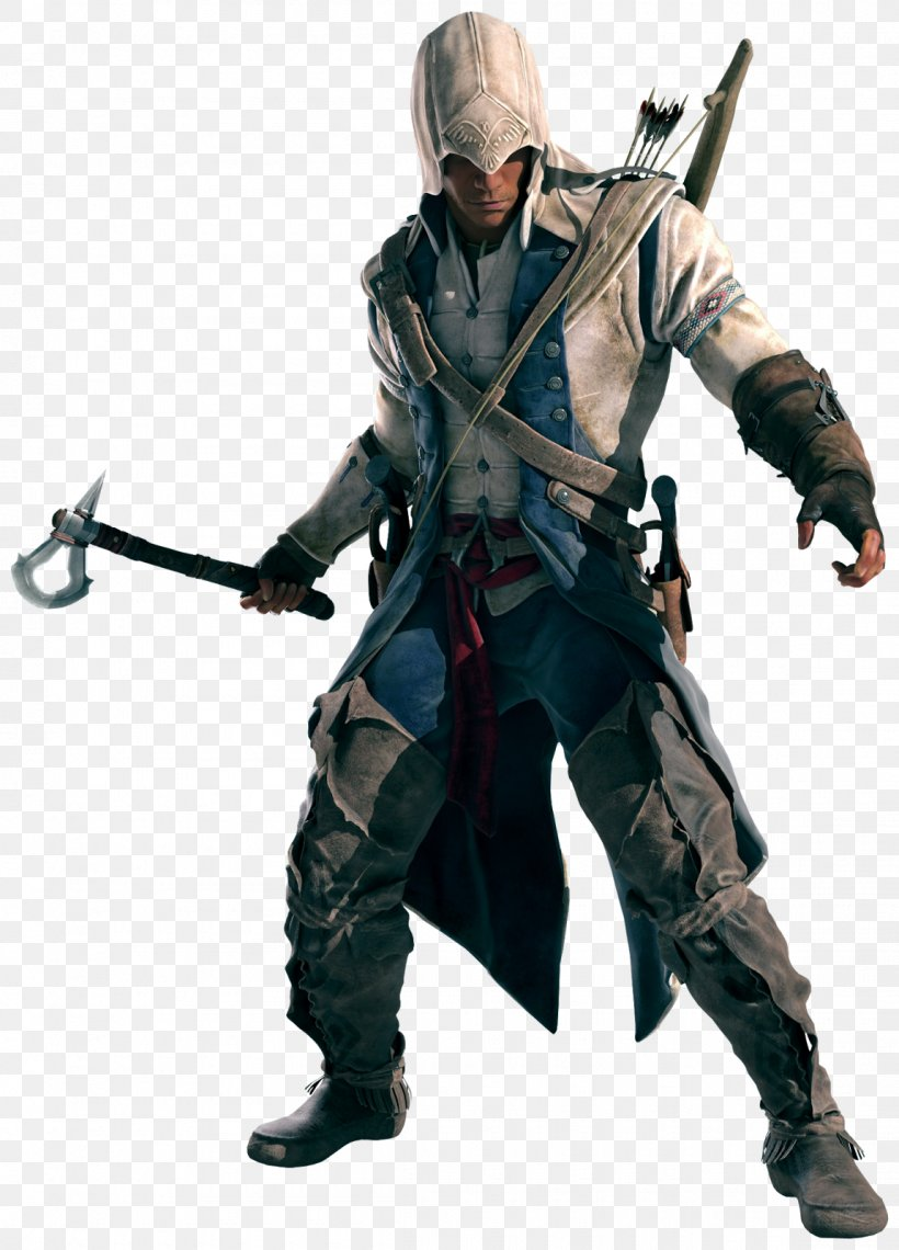 Assassin's Creed III Ezio Auditore Assassin's Creed IV: Black Flag Assassin's Creed: Brotherhood Assassin's Creed Syndicate, PNG, 1150x1600px, Ezio Auditore, Action Figure, Assassins, Connor Kenway, Costume Download Free
