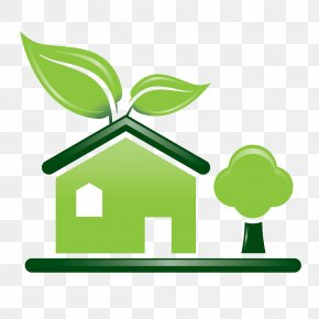 Home - Environmentally Friendly House Green Home Green Building PNG