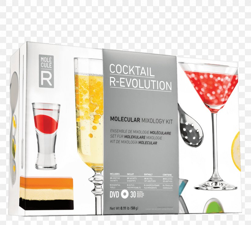 Molecule-R Cosmopolitan R-Evolution Cocktail Mixing Kit
