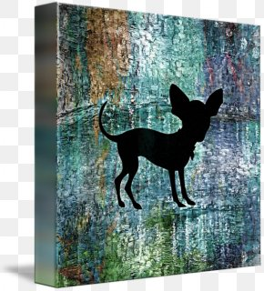 Dana 44 - Dog Breed Chihuahua Gallery Wrap Canvas Art PNG