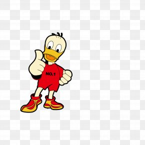 Donald Duck Cartoon Thumb Vector - Donald Duck Cartoon PNG