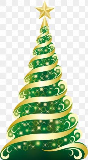 Christmas Tree - Christmas Tree Christmas Card Clip Art PNG