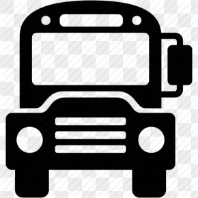 School Bus Icon - Airport Bus School Bus Transport PNG