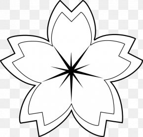 Flower - Flower Drawing White Clip Art PNG